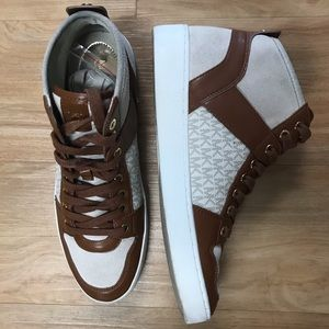 Michael Kors High Top Logo Sneakers